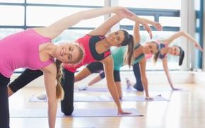 Картинка yoga class, sportswear, stretching