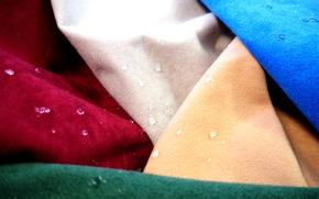 Картинка вода, капли, текстура, ткань, обивочный материал, антимикробный, водонепроницаемый