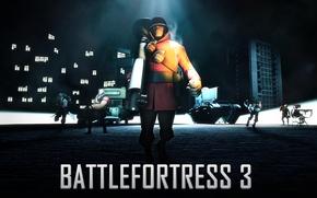 Картинка battlefield, Team Fortress 2, art, fan, battlefortress 3