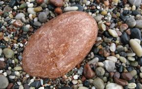Картинка галька, разноцветные, мокрые, картинка макро, морские камешки, гладкий камень
