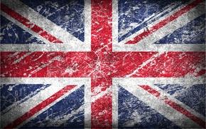 Картинка Англия, текстура, флаг