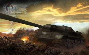 Картинка world of tanks, мир танков, Обьект 704, Обьедок 704, Object 704, Wot