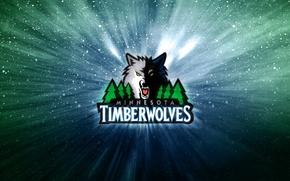 Картинка Баскетбол, Волк, Логотип, NBA, Миннесота, Лесные Волки, Minnesota TimberWolves