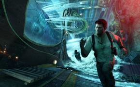 Картинка Game, Naughty Dog, Натан Дрейк, Uncharted 3: Drake's Deception