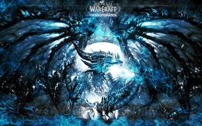Картинка WoW, World of Warcraft, Cataclysm, Dragon, Deathwing, Neltharion the Earth-Warder, Deathwing the Destroyer