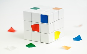 Картинка грани, кубик рубика, наклейки