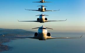 Обои Family, Bombardier, Global