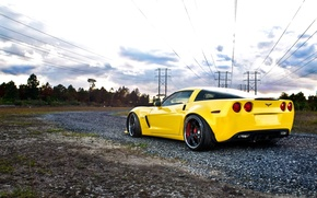Картинка обои, Z06, Corvette