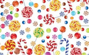 Картинка сладость, текстура, леденцы, карамель
