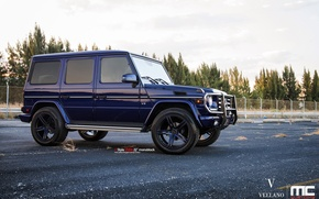 Картинка blue, vellano, Mercedes-Benz G550