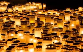 Картинка память, праздник, свечи
