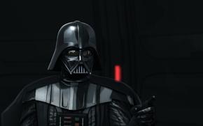 Картинка фон, Star Wars, шлем, Звездные Войны, Дарт Вейдер, костюм, Darth Vader