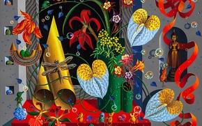 Картинка натюрморт, живопись, Игорь Тюльпанов