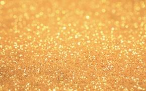 Картинка песок, фон, золото, блеск, текстура, блестки