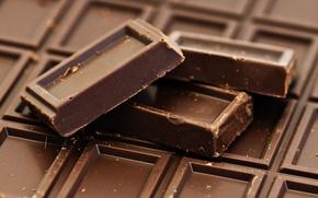Картинка фон, обои, еда, шоколад, wallpaper, широкоформатные, background, сладкое, chocolate, полноэкранные, HD wallpapers, широкоэкранные