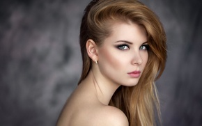 Картинка взгляд, модель, портрет, Ирина Попова