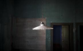 Картинка фон, комната, лампа