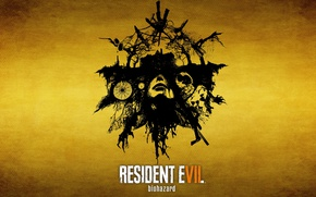 Обои wallpaper, girl, horror, zombie, game, ghost, woman, Microsoft Windows, Resident Evil, survivor horror, face, death, ...