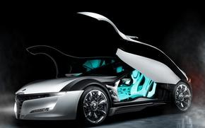 Картинка двери, Alfa Romeo, концепт-кар, вид сбоку, Pandion