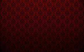 Обои красный, фон, узоры, текстуры