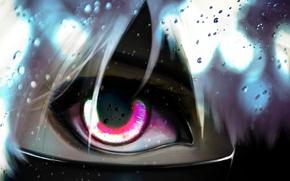 Картинка лицо, глаз, аниме, арт, парень, челка, токийский гуль, tokyo ghoul, kaneki ken