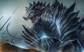 Картинка монстр, Дракон, RPG