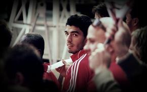 Картинка football, goal, liverpool, player, suarez, Luis suarez