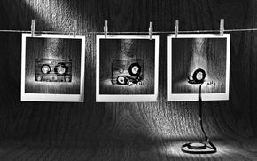 Картинка фото, кассеты, прищепки, плёнка