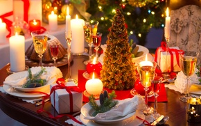 Обои рождество, новый год, праздник, christmas