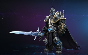 Картинка меч, Lich King, blizzard, world of warcraft, heroes of the storm