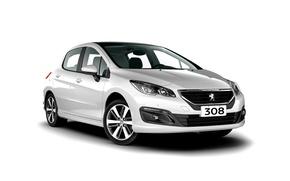 Обои белый фон, Peugeot, пежо, 308