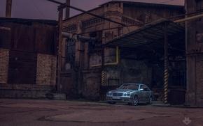 Картинка mercedes, мерседес, factory, фабрика, w210
