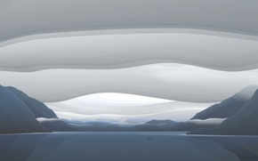 Картинка облака, Вектор, залив