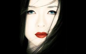 Обои мемуары гейши, лицо, Zhang Ziyi