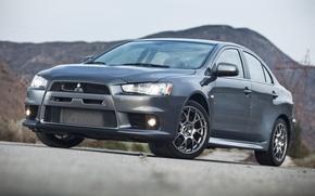 Картинка Mitsubishi, Lancer, Evolution, Evo, Touring, 2014 Mitsubishi Lancer Evolution MR Touring, Lancer Evo, Mitsubishi 2014