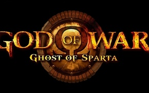 Картинка Sony, demigod, Kratos, God of War, omega, PS3, spartan, shield, Greece, god, PlayStation Portable, Deimos, …