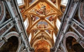 Картинка Италия, монастырь, Неаполь, Чертоза-ди-Сан-Мартино