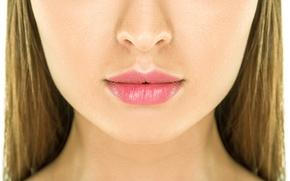 Обои mouth, nose, woman, skin