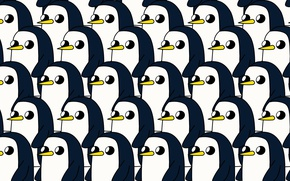 Картинка Мультяшка, Мультфильм, Пингвин, Персонаж, Adventure Time, Время Приключений, Gunter, Гантер, Гюнтер