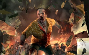 Картинка zombie, Dead Island, video game, attack