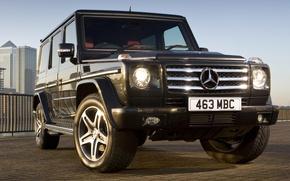 Обои G55, Kompressor, Mercedes