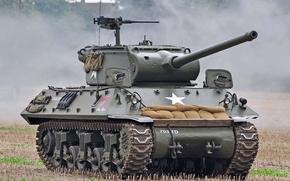 Картинка истребитель танков, (САУ), Второй мировой войны, M36, 90-мм, самоходная пушка, «Джексон»