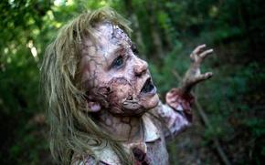 Картинка триллер, 2015, Abigail Breslin, Мэгги, Maggie, драма, ужасы