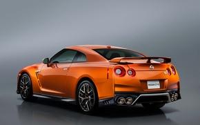Картинка GT-R, ниссан, Nissan, фон, R35