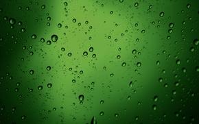 Обои макро, пузыри, зелёный, текстура, бульки, water drops style, green texture, капли