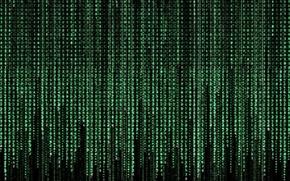 Картинка green, matrix, texture, numbers, codes, symbols