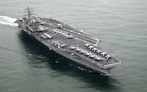 Картинка aircraft, USS, carrier