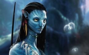 Обои Neytiri, avatar, аватар