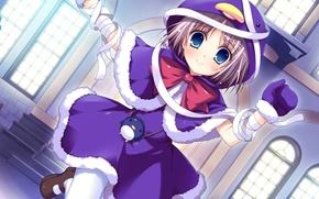 Обои iro ni ide ni keri waga koi wa, game, anime, девочка