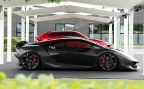 Обои Sesto Elemento, Lamborghini, and, Lamborghini Urus